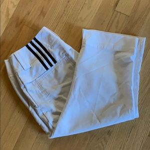 Adidas climcool cropped golf pant